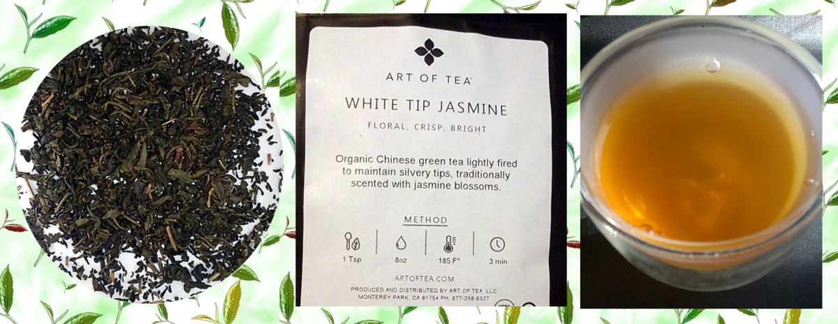 The Taste Of Tea ~ White Tip Jasmine from Art ofTea