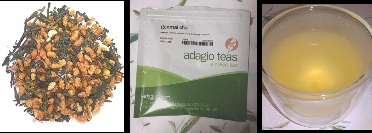 The Taste of Tea :: Genmai Cha from AdagioTeas