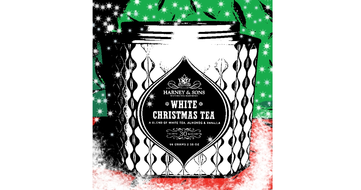 The Taste of Tea :: White Christmas Tea from Harney &Sons