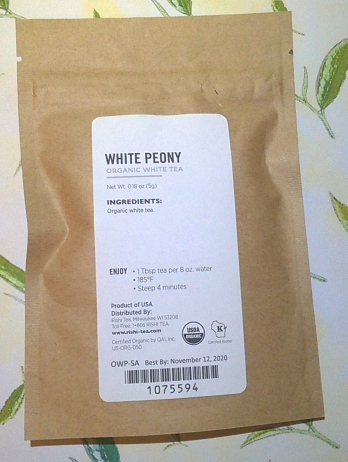 White Peony from Rishi Package