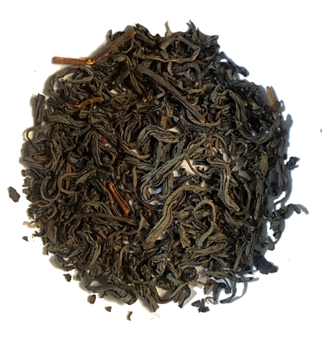 Dry leaves of the Wakoucha loose leaf tea from High Garden