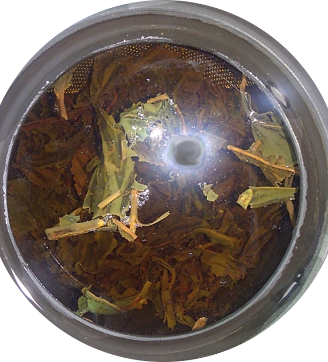 Wakoucha tea infusing